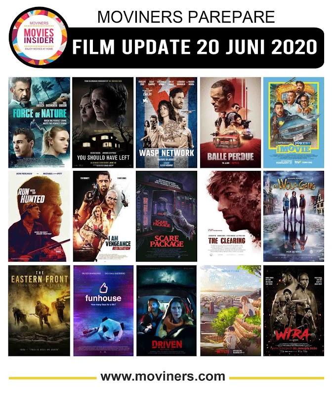 FILM UPDATE 20 JUNI 2020