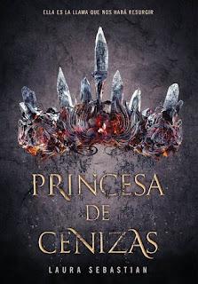 Libro Princesa de cenizas de Laura Sebastian
