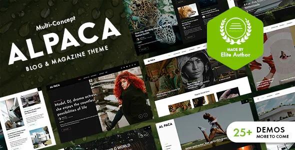 Best Blog & Magazine WordPress Theme