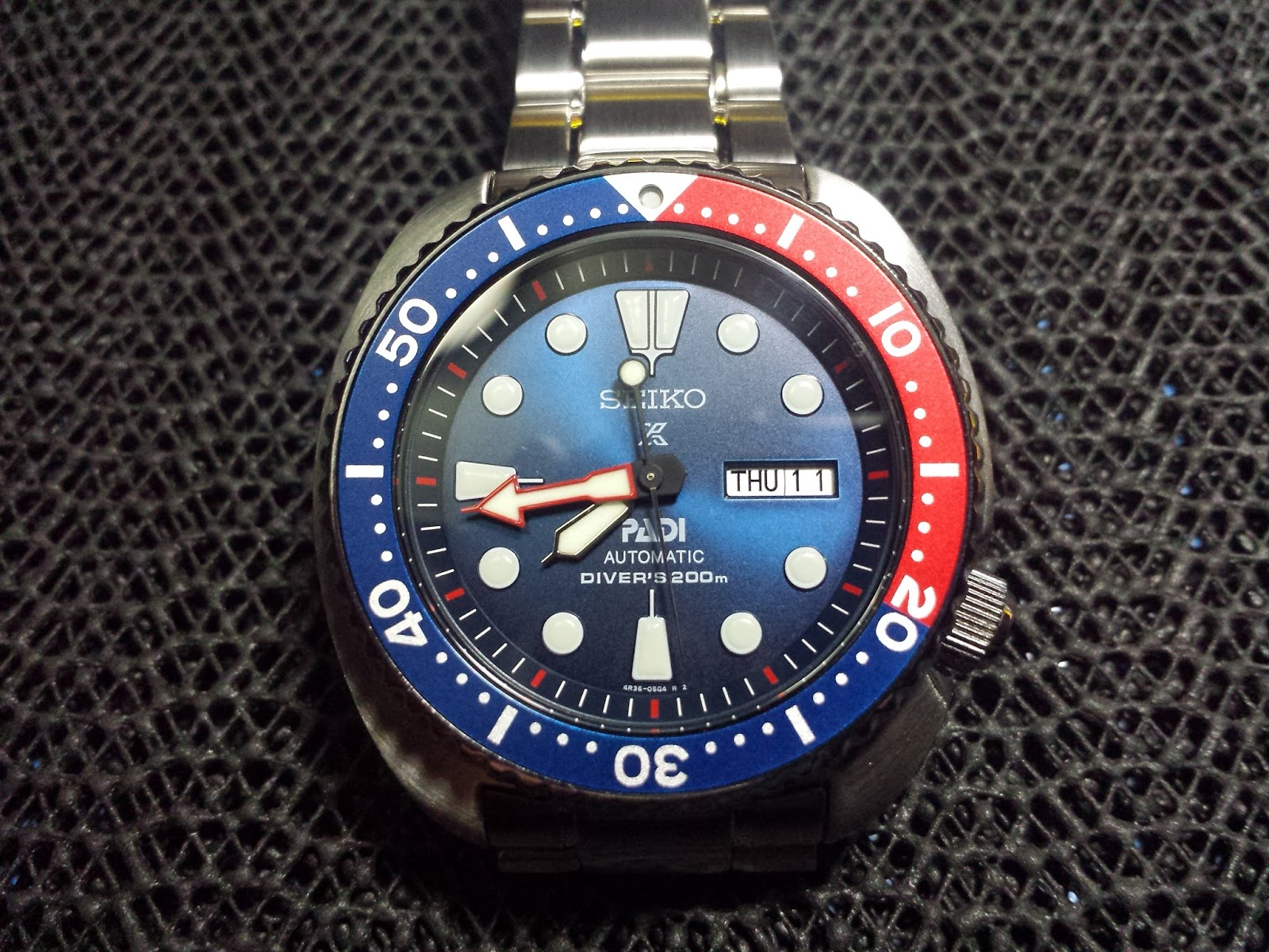 Pinoy Watch Fan Seiko Srpa21 Special Edition Pepsi Padi Turtle