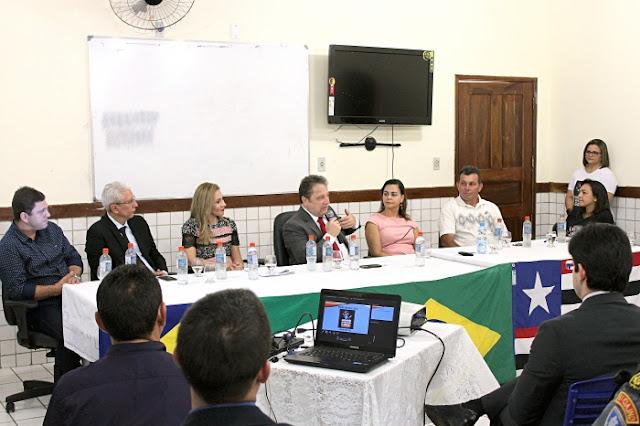 """Com forte articulação das instituições o Município de Passagem Franca encampa o projeto """"Maranhão na Prevenção às Drogas"""""""