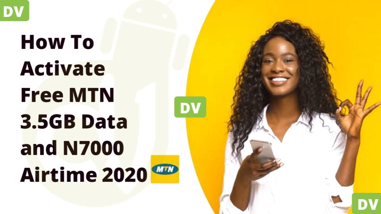 mtn free n7000 airtime