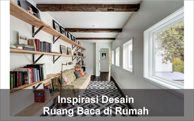 desain ruang baca di rumah