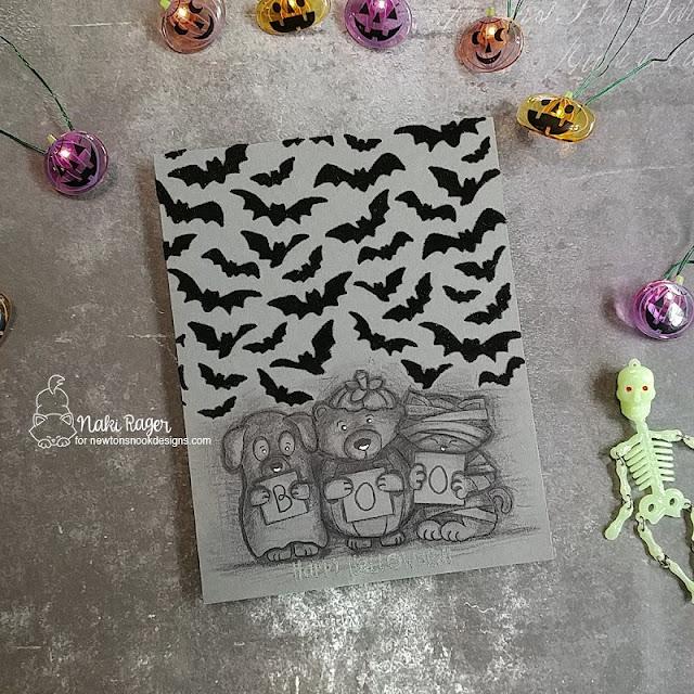 Newton's Nook Designs Halloween Trio Set - Naki Rager