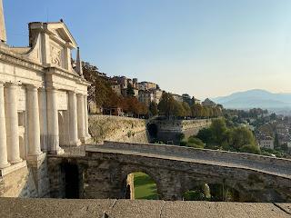 Bergamo - Porta San Giacomo.