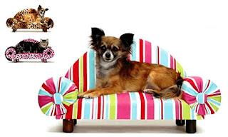 Udobno ležišče za psa ali muco.