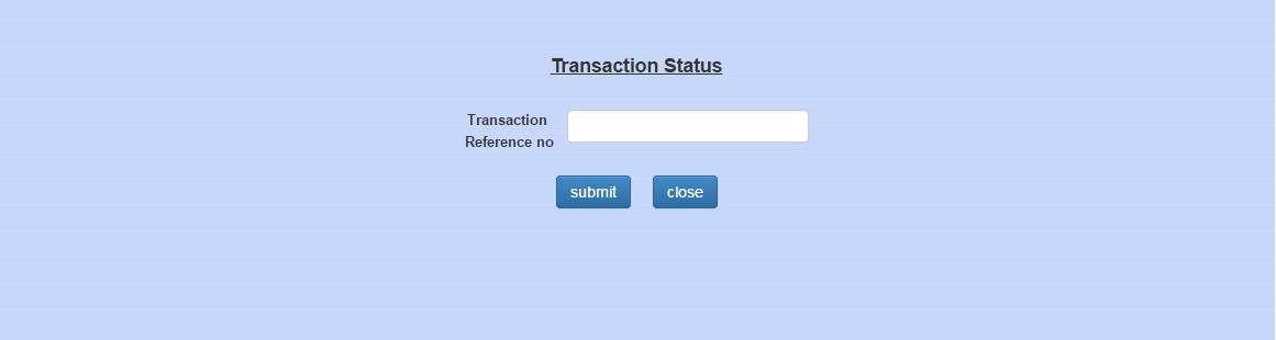 e Challan Transaction Status