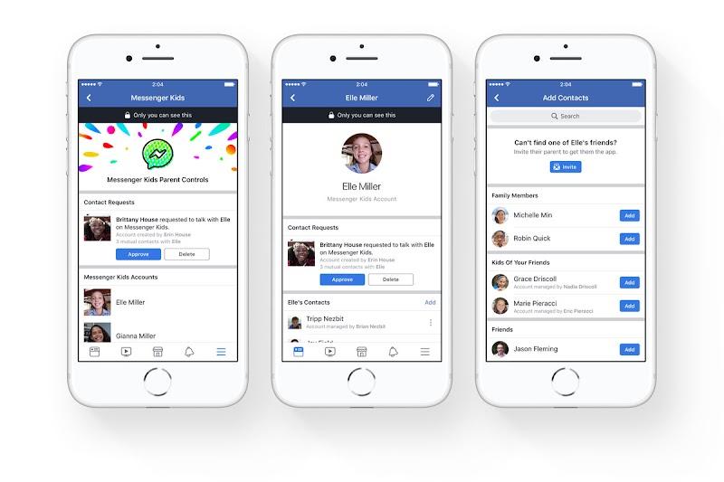 Un grave fallo en la aplicación de Facebook para niños Messenger Kids