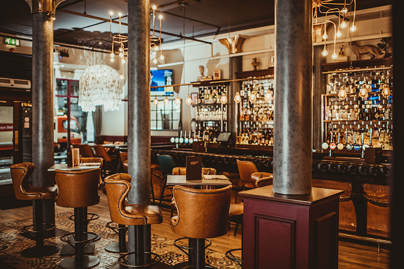 The Smokin' Fox Glasgow City Centre Restaurant Review | Colours and Carousels - Scottish Lifestyle, Beauty and Fashion blog