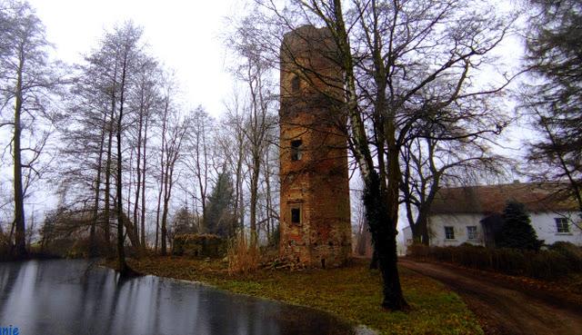 Ruiny zamku w Wyszynie woj. wielkopolskie - CZYTAJ DALEJ