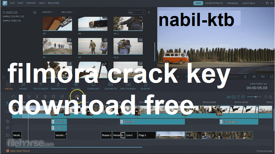 filmora latest version crack 32 bit