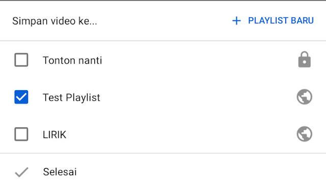Cara Menambahkan Video ke Daftar Playlist di YouTube