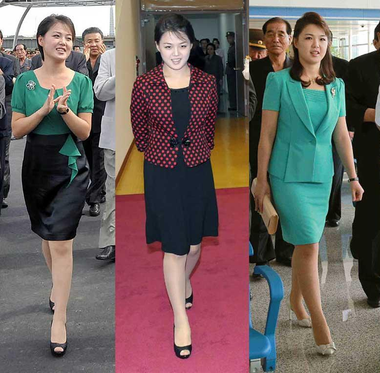 The younger Kim has cultivated an outgoing and informal style, Unlike his father and grandfather, Kim is often seen accompanied by the women in his life - namely Ri and Yo Jong - in a break from the past when leaders' spouses or sisters rarely made public appearances.