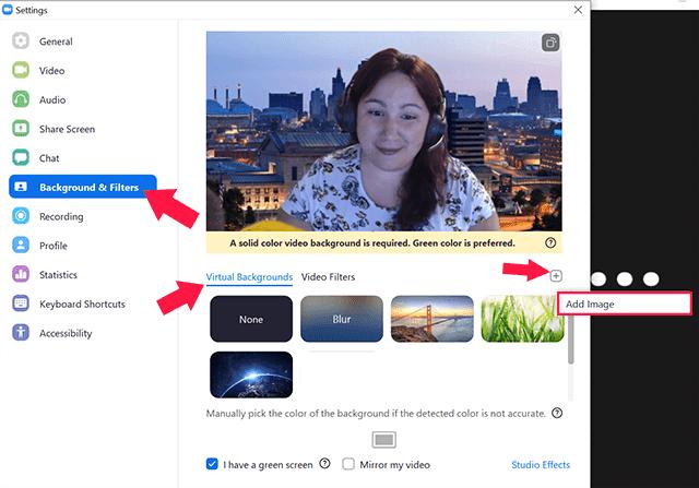 Cara Freeze Video di Zoom Meeting