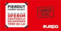 Castiga 1000 de lei/cuvant la Europa FM - secret - concurs - radio - premii - bani - castiga.net