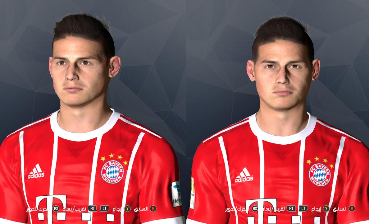 PES 2017 JAMES RODRIGUEZ FACE BY SHENAWY