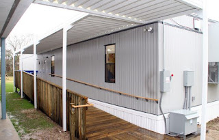Modular office buildings, mobile office trailers and portable classrooms
