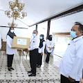 INOVASI Jatim Bantu 242.952 Masker Bagi Guru Pendidik dan Anak Didik