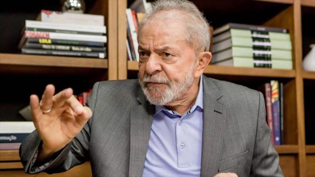 Lula dice que luchará hasta restablecer la democracia en Brasil