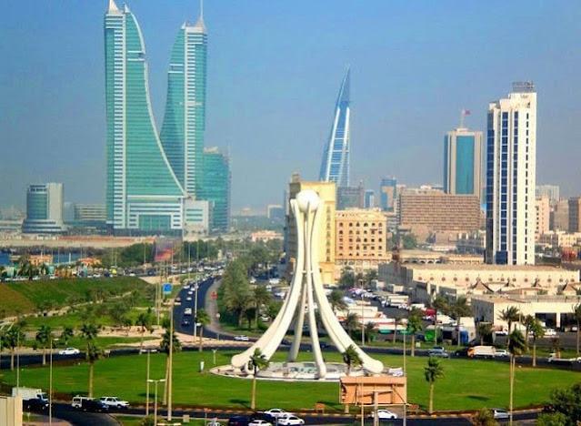 منظر لمدينة المنامة عاصمة البحرين