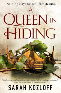 A Queen in Hiding by Sarah Kozloff cover
