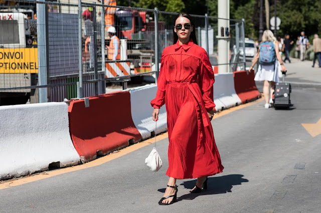 Haute Couture AW 17-18 Paris Fashion Week Street Style