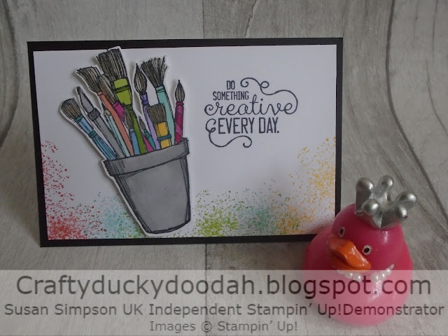 Craftyduckydoodah, It Starts With Art, Creatively Yours, Stampers By The Dozen 2nd Anniversary Blog Hop, Stampin Up! UK Independent  Demonstrator Susan Simpson, Supplies available 24/7 from my online store,