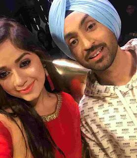 Jannat Zubair With Diljit Dosanjh