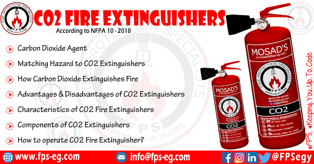 CO2 Fire Extinguishers According to NFPA