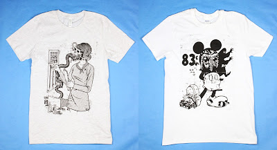 Paul Rentler T-Shirt Collection by Novelty Naus – Man-Thing Mouse T-Shirt