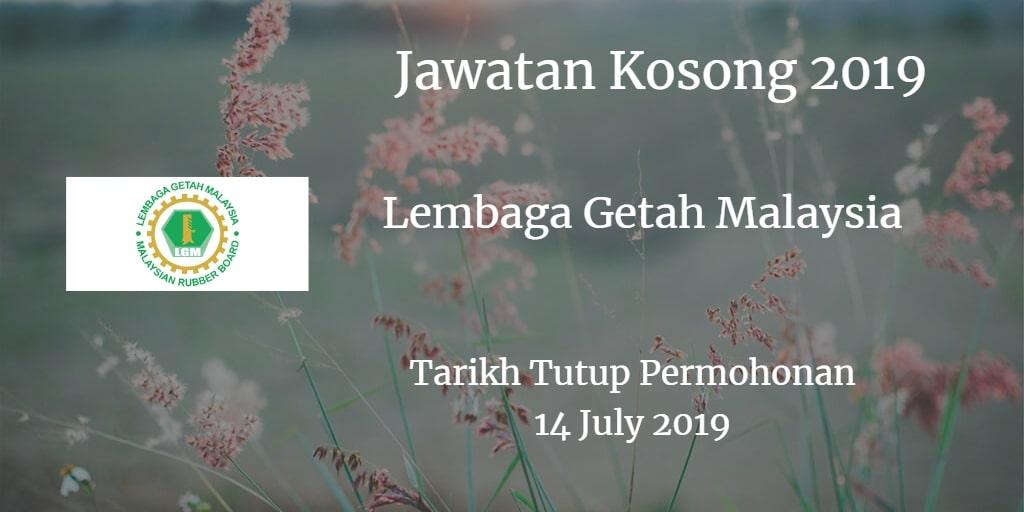 Jawatan Kosong LGM 14 July 2019