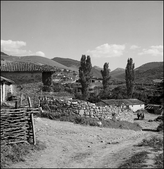 Поселок крымских татар в Крыму, 1943 год