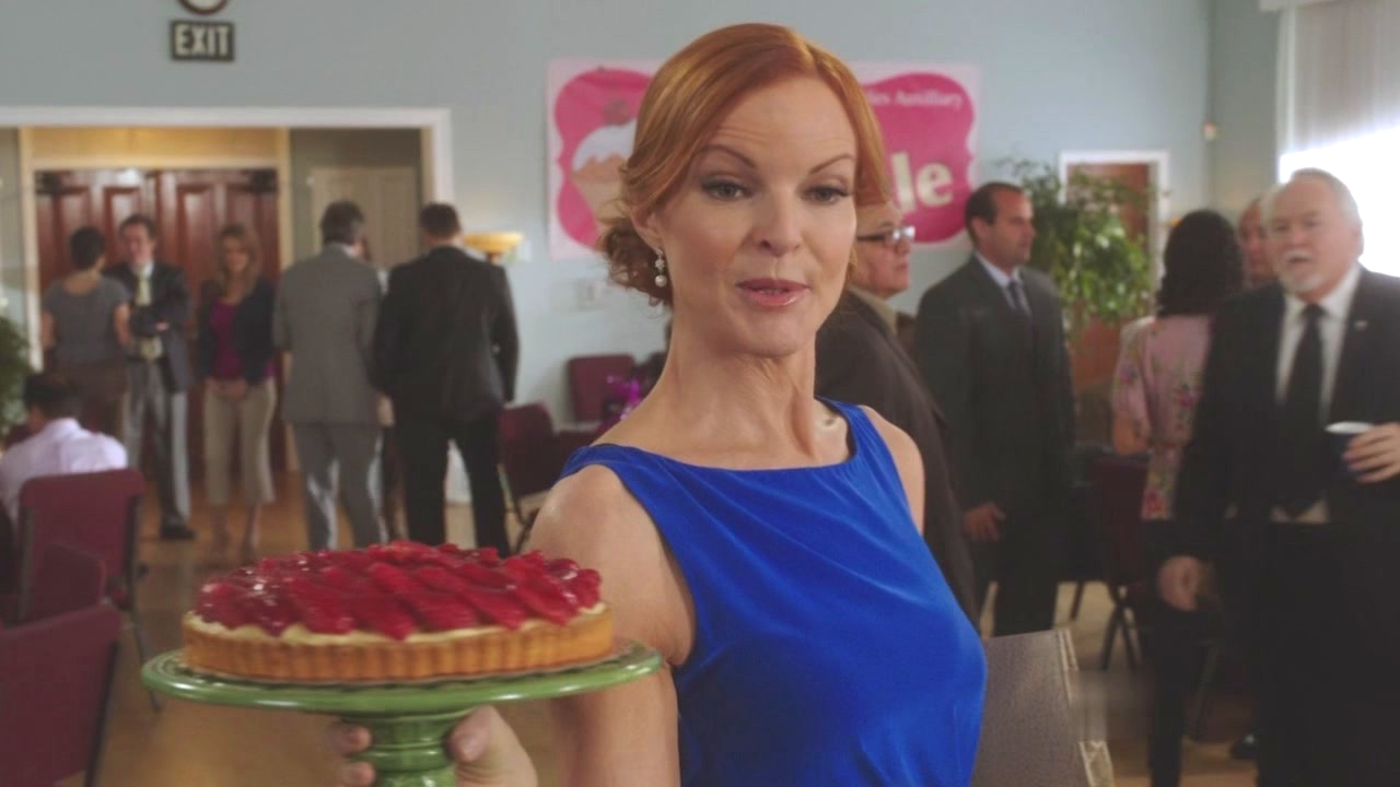 Bree Van de Kamp en una escena de Desperate Housewives