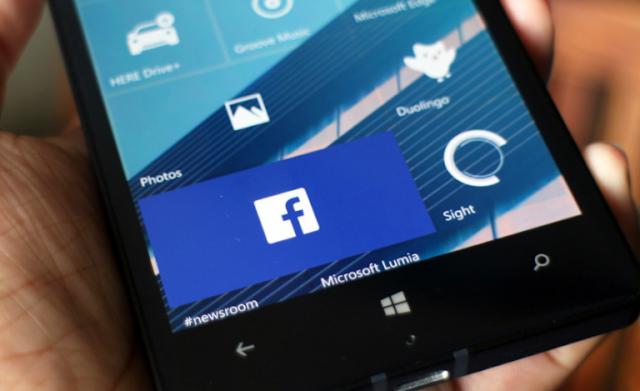 تطبيق فيسبوك الرسمي على ويندوز 10 موبايل يُجلب إصلاحات شاملة