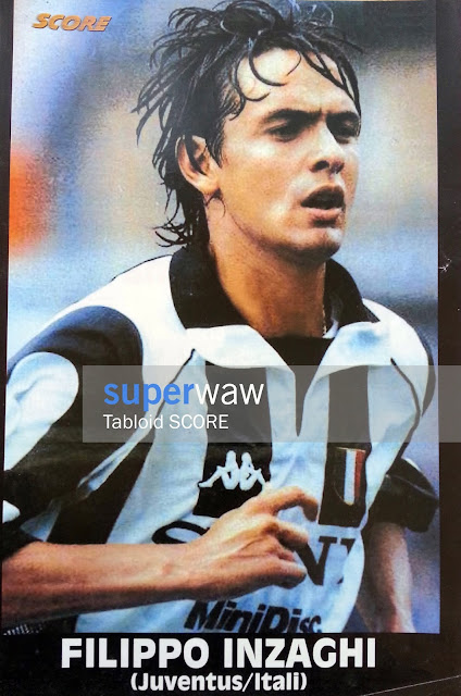 Poster Filippo Pippo Inzaghi Juventus 1997