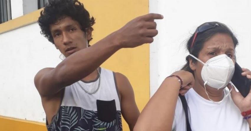 Aparece estudiante Luis Araujo Enríquez, habría sido secuestrado por el grupo terna de la PNP según declaraciones [VIDEO]