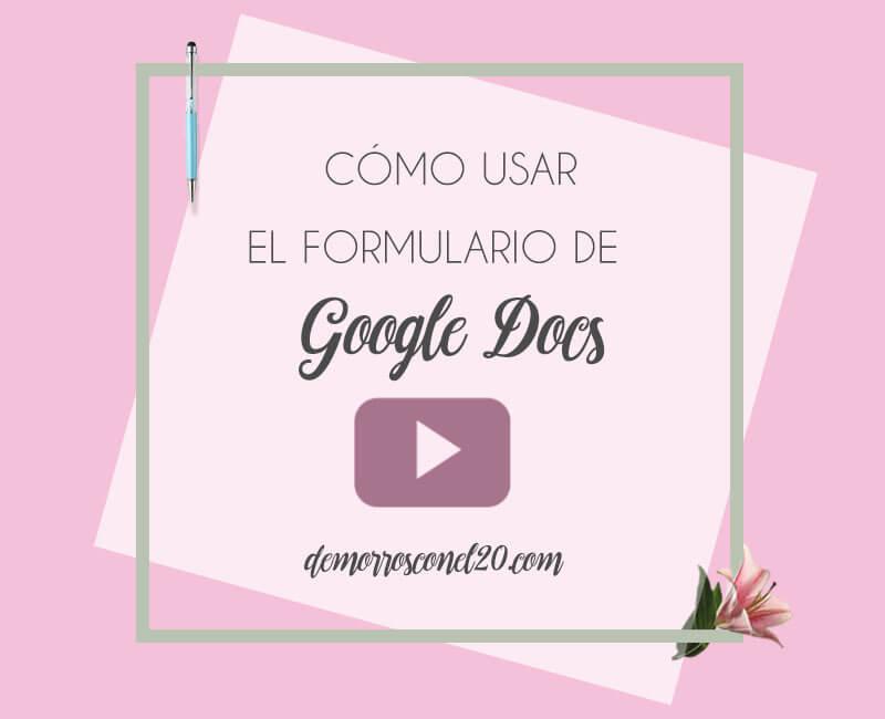 como-crear-formulario-con-google-docs-videotutorial