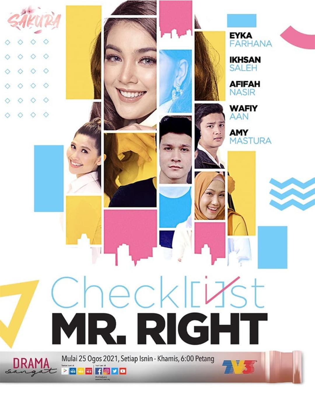 Checklist Mr. Right (2021)