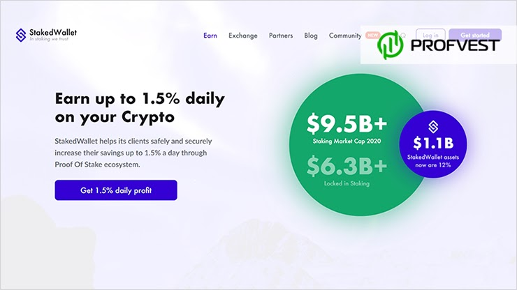 StakedWallet обзор и отзывы HYIP-проекта