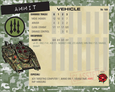 Ammit Hover Vehicle (x2 per pack)
