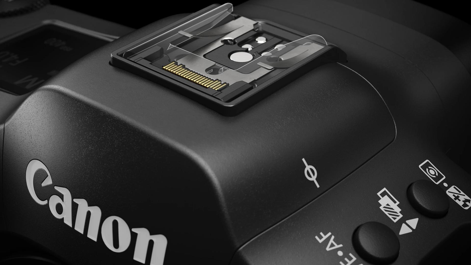 Многофункциональный горячий башмак Canon EOS R3