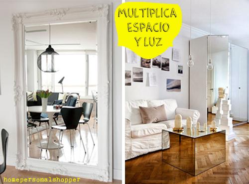 5 trucos para decorar espacios peque os decoraci n for Amueblar pisos pequenos
