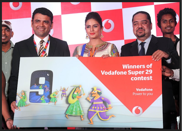 Vodafone Lottery Winner