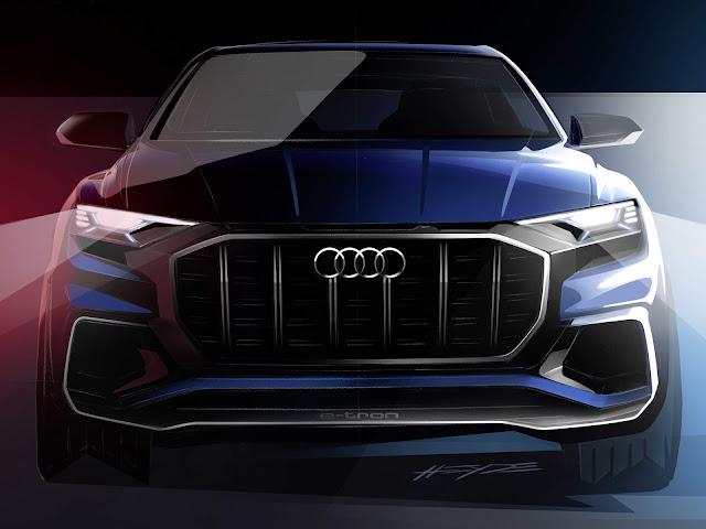 Novo Audi Q8 2017