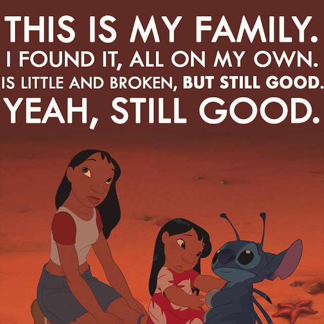 this is my family Lilo Stich Ohana  Lilo & Stich 2002 animatedfilmreviews.filminspector.com