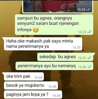 Testimoni Paket Surabaya Mojokerto