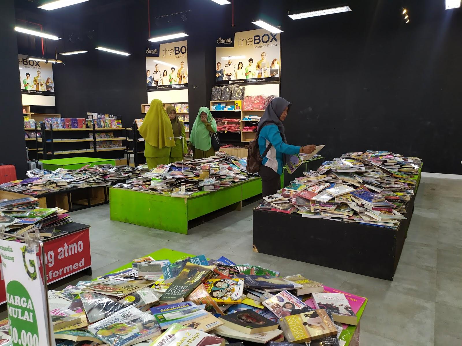 Toko Buku Gramedia Atmo Akhirnya Buka Cabang Di Prabumulih