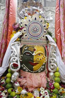 शिव नवरात्रि के दूसरे दिन भगवान महाकाल ने अर्द्धनारीश्वर स्वरूप में शेषनाग धारण कर भक्तों को दिये दर्शन