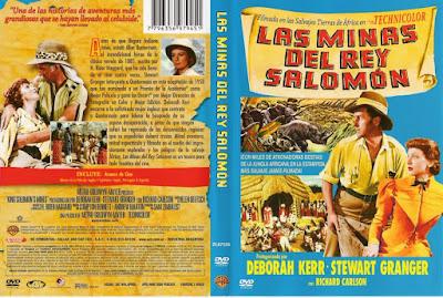 Carátula 2 dvd: Las minas del rey Salomón | 1950 | King Solomon's Mines
