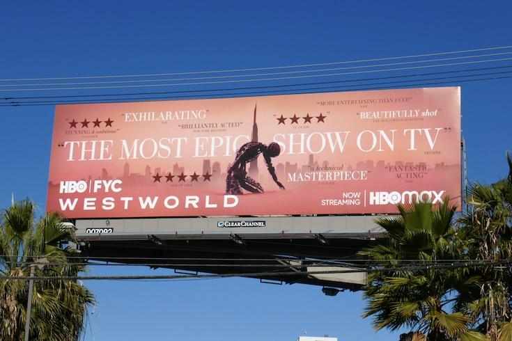 Westworld season 3 FYC billboard